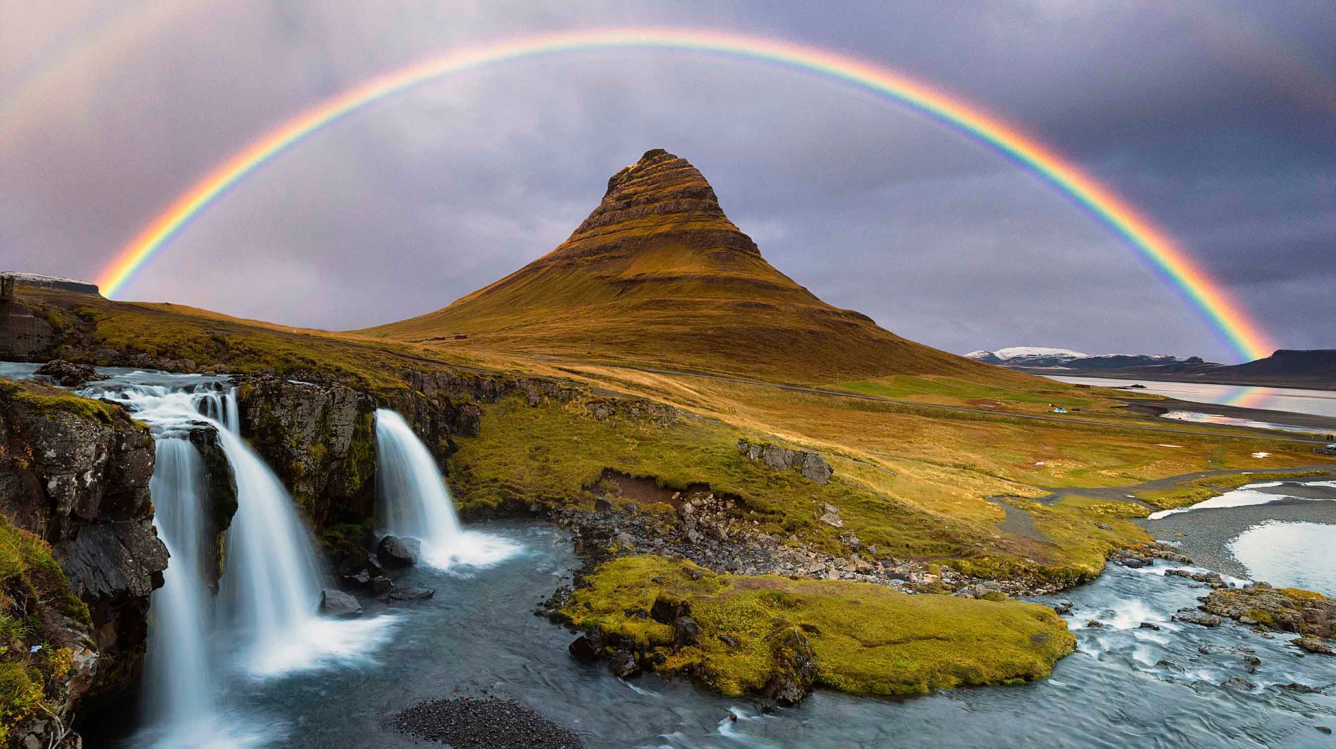 """""""Rainbow"""" comes from the Latin arcus pluvius, meaning """"rainy arch."""""""
