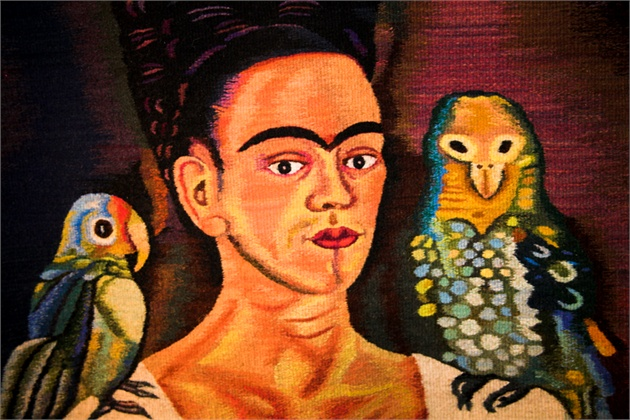 Frida Kahlo was born on July 6, 1907, in Coyoacan, Mexico City.