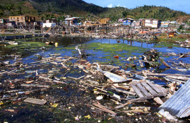 About 90% of the deaths that happen during hurricanes consequence from drowning in floods.