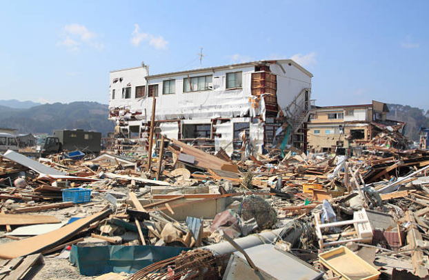 Approximately 99% of tsunami death toll take place within 160 miles from the point of tsunami origin.