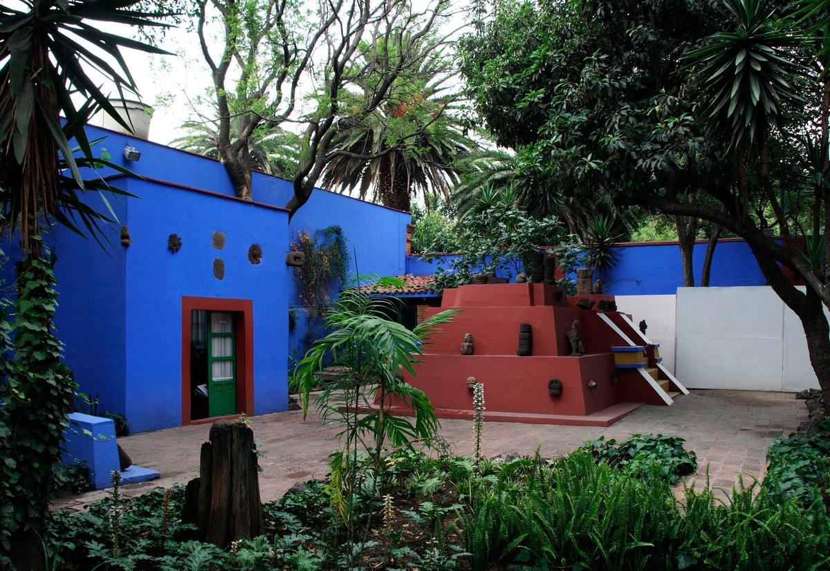 Casa Azul (frida's home) was turned into a museum after her death.