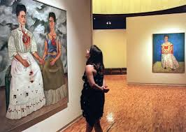 Frida was the first Mexican artist to have one of her paintings bought by the Louvre Museum.