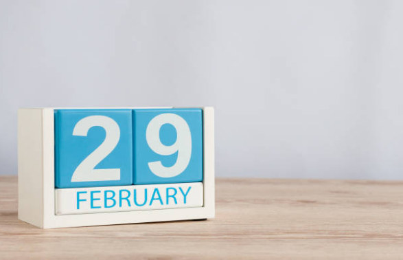 A normal February has 28 days, and a leap year 29, but a few times in history Feb 30 has been a real day.