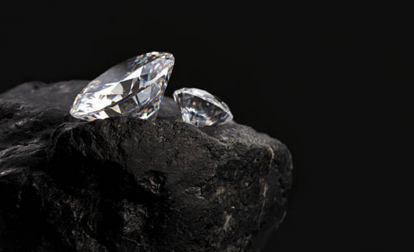 Diamonds can also form from coal in subduction zones and in meteoroid impacts.
