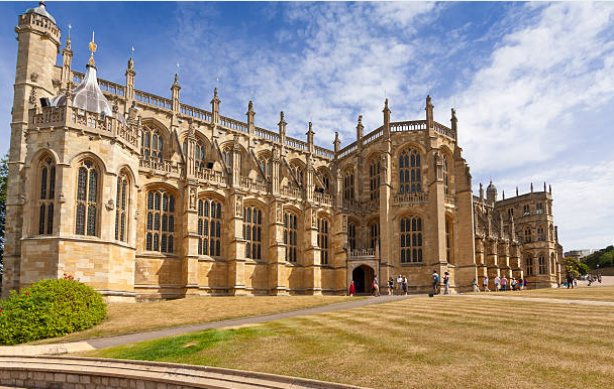 Every year The Queen takes up official residence in Windsor Castle for a month.