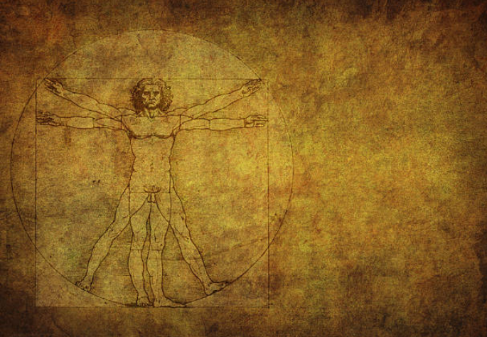 Leonardo Da Vinci switched the muscles with strings to see how they worked after dividing cadavers.