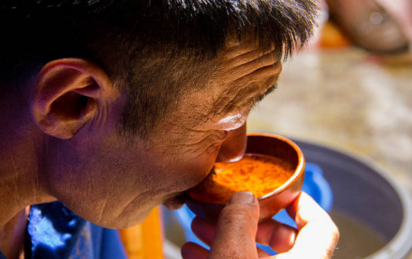 Mongolia's national drink is called Airag or Kumiss.
