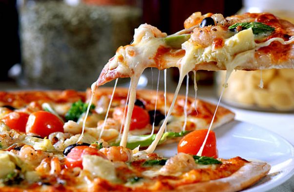 One of the most expensive pizzas ever made cost £4200.