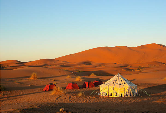The Gobi desert of Mongolia is the largest desert in Asia and is the fifth largest in the world.