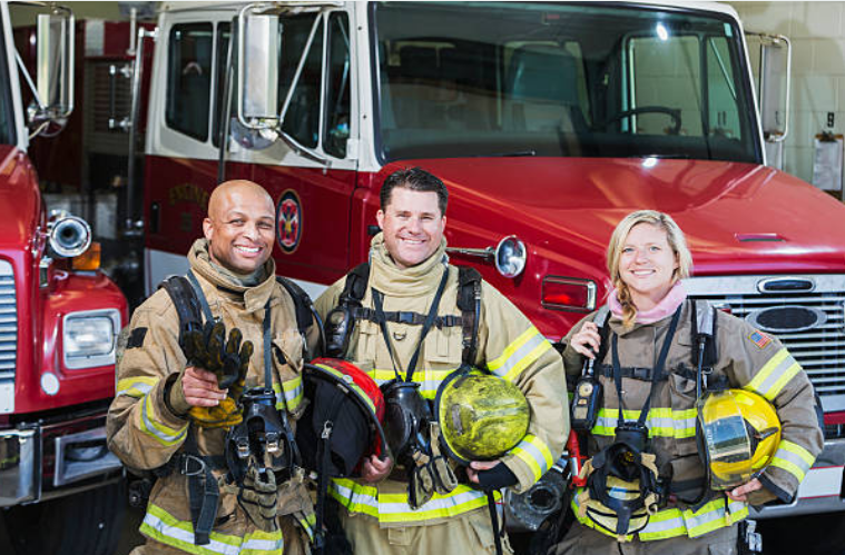 Firefighters are on duty for about 50 hours each week according to the BLS.