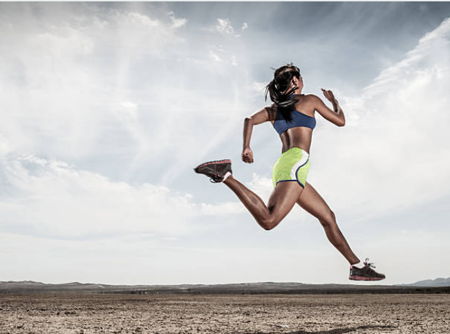 In the feet, 112 ligaments, 26 bones, 33 joints, nerves, blood vessels and tendons work together when we run.