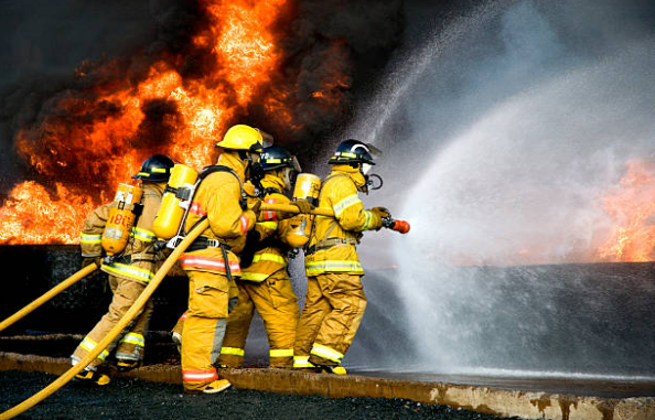 A firefighter needs 100 hours of training.