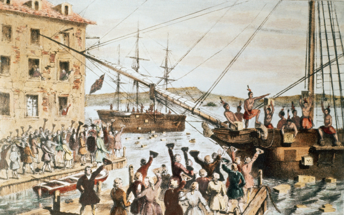 The Beaver ship, under Captain Bruce, carried 114 chests of tea.