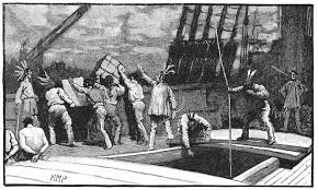 The Boston Tea Party was one of the main triggers of the American Revolution.