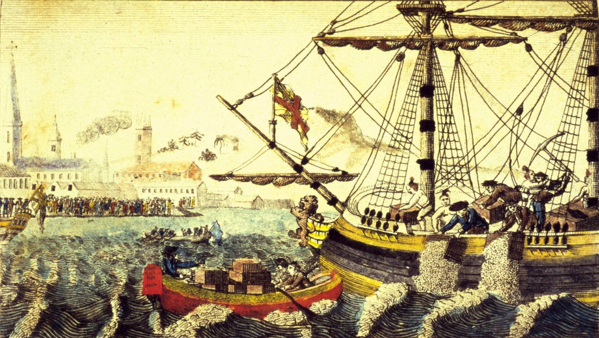 The Bostonians decided to demand that the tea be sent back to England with the tax unpaid.