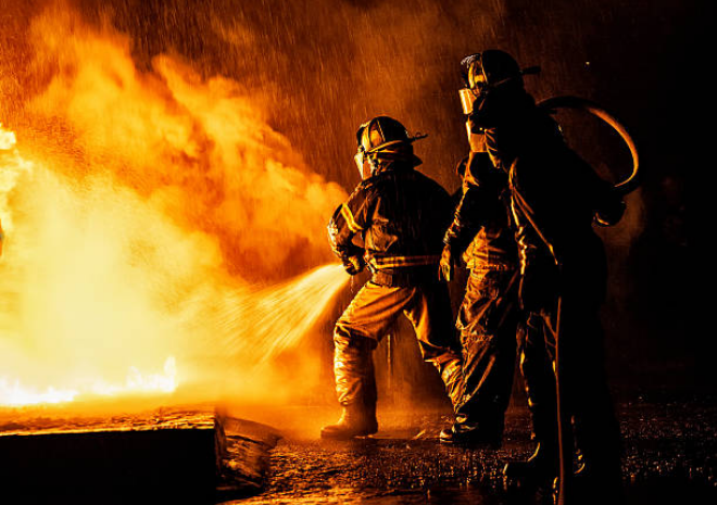 The minimum age to be a firefighter is at least 18 years.