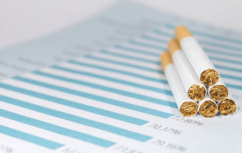 The top five states with the highest state tax on cigarettes are Hawaii, Rhode Island, New York, New Jersey and Wisconsin.