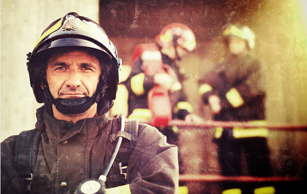 """There is a special type of firefighter called a """"smoke jumper"""" they are meant for forest fires."""