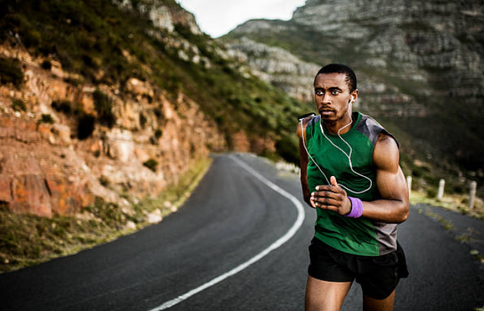 We can burn at least 10 calories per minute of running.