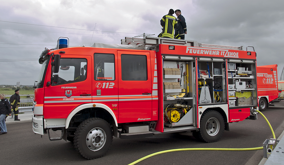 """In Germany, even the smallest villages are required to have a volunteer fire department, called the """"Freiwillige Feuerwehr"""", by law."""