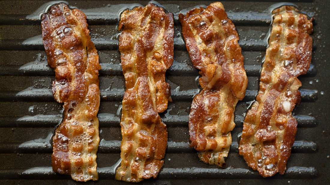70% of the world's bacon comes from the Netherlands.