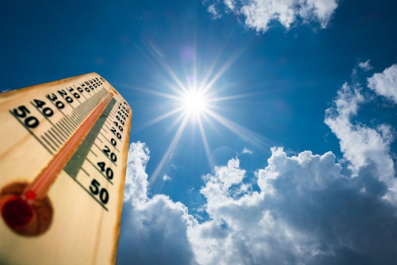 Algeria recorded its record high temperature in August of 2011.