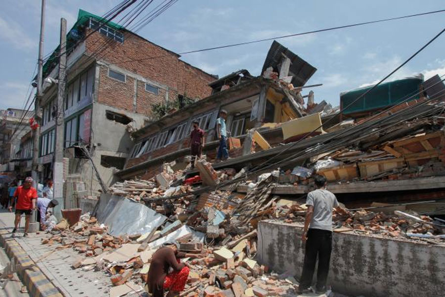 Bangladesh sits in one of the most disaster-prone areas of the world.