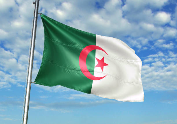 The current Algerian flag was adopted on 3 July 1962.