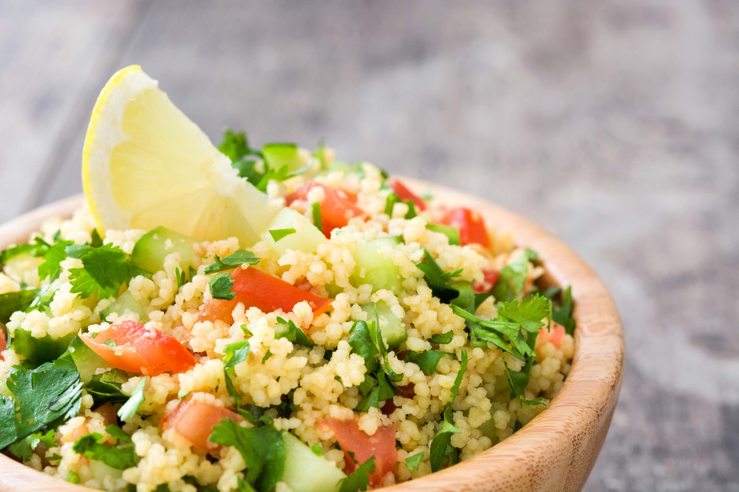 The national dish of Algeria is Couscous.