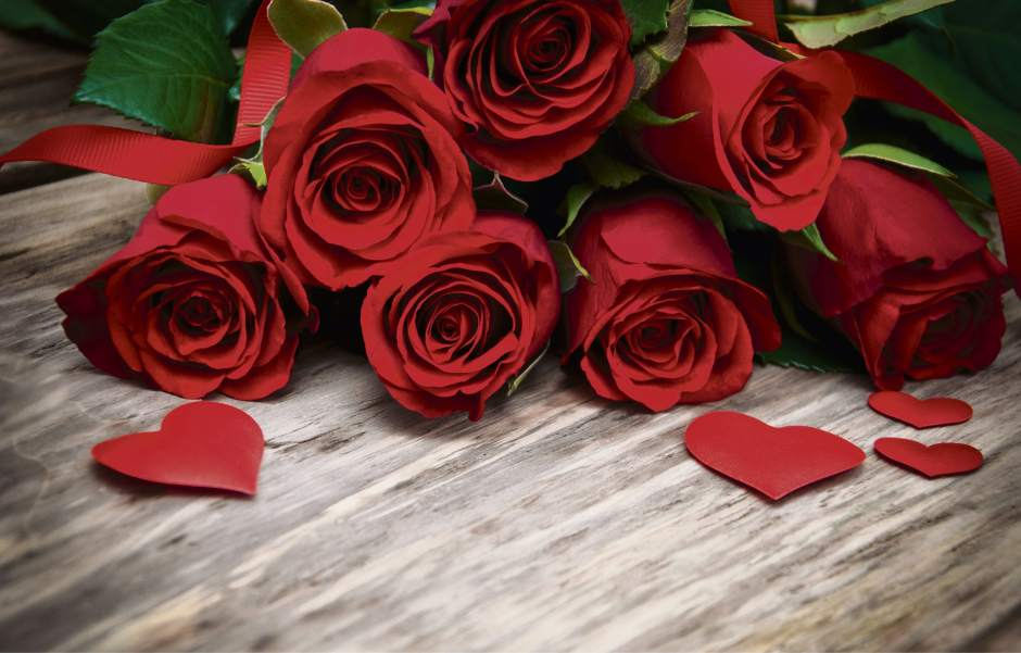 The red rose is the national flower of England.