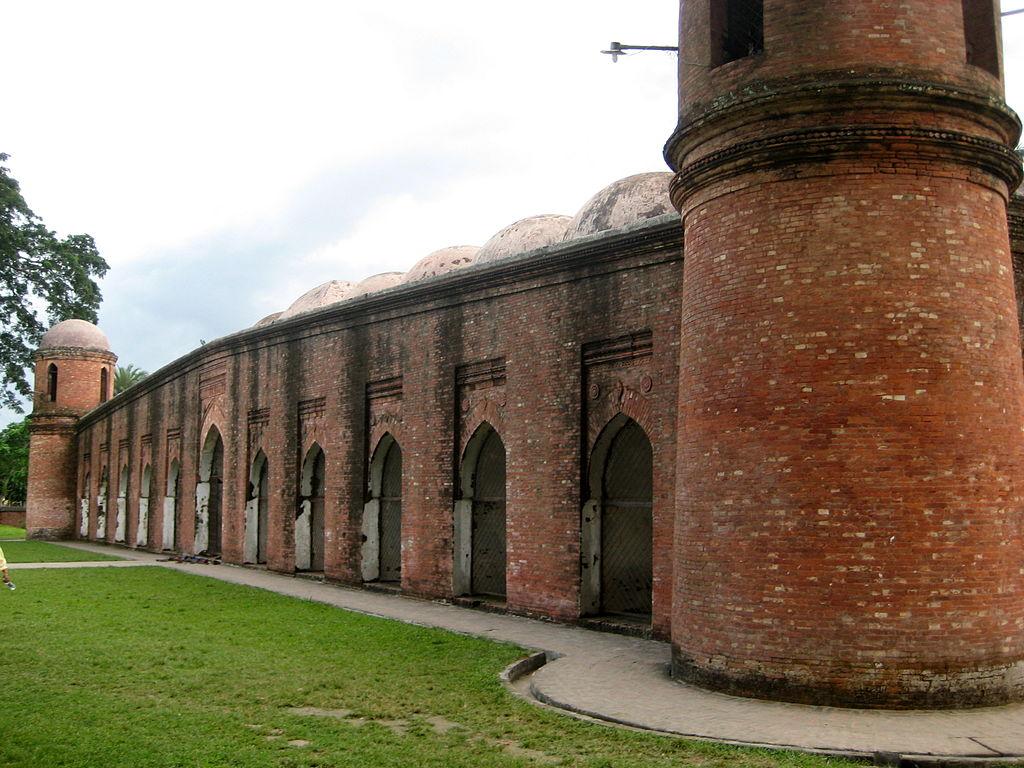 Three UNESCO World Heritage sites are located in Bangladesh.