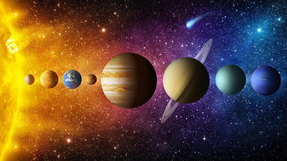 From the Sun, Saturn is located at a distance of 885,904,700 miles or 1,426,725,400 km.