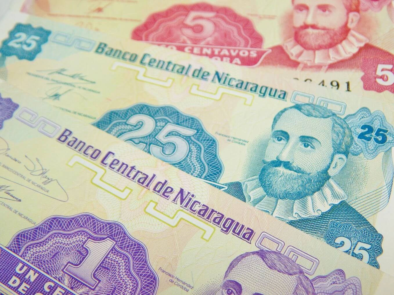 Gold Cordoba is the official currency of Nicaragua.