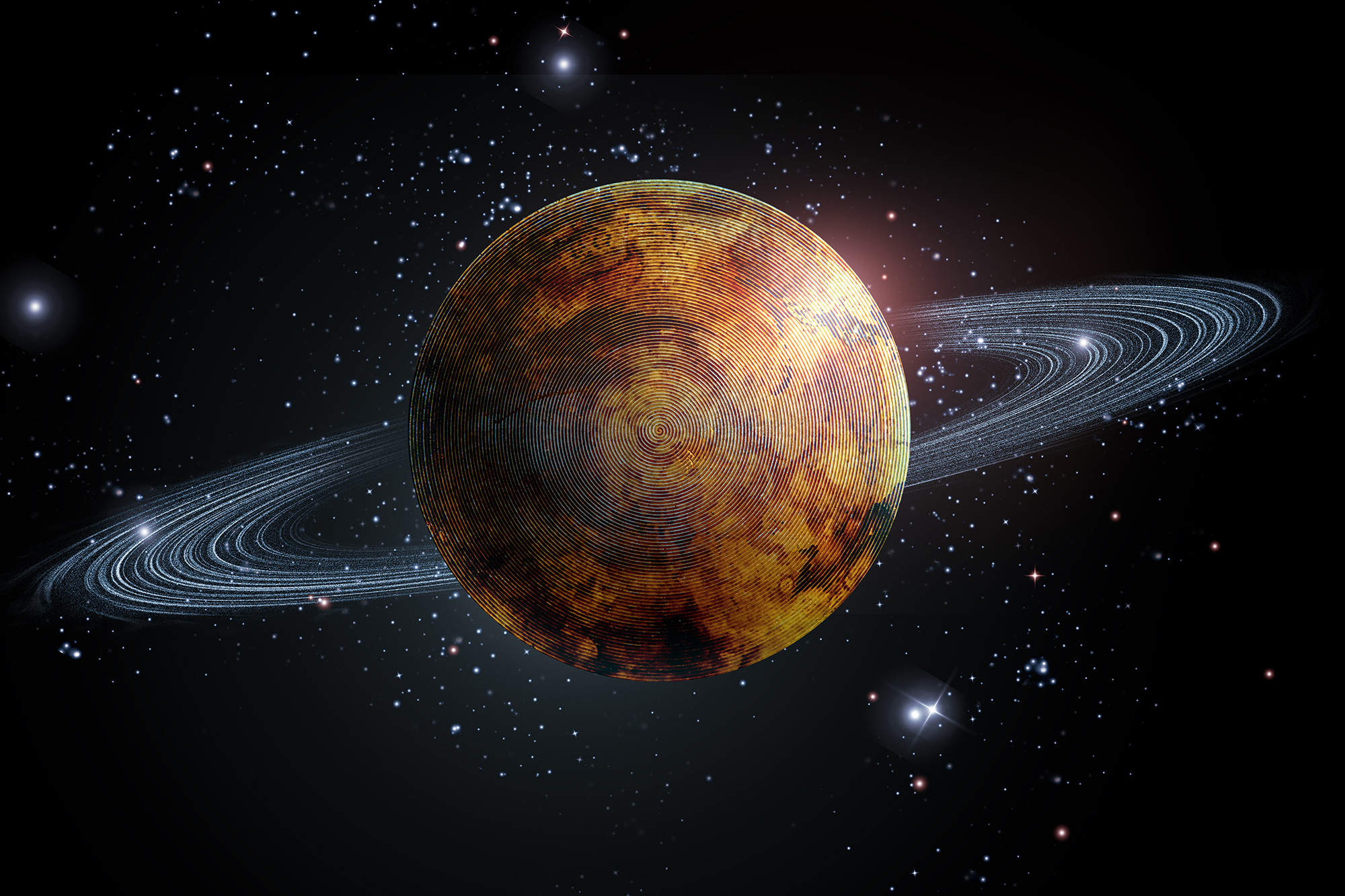 Saturn is the 6th planet from Sun and is a gas giant.