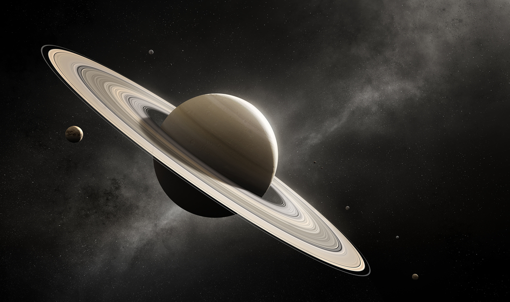 Saturn is the planet with the lowest density in the entire Solar System.