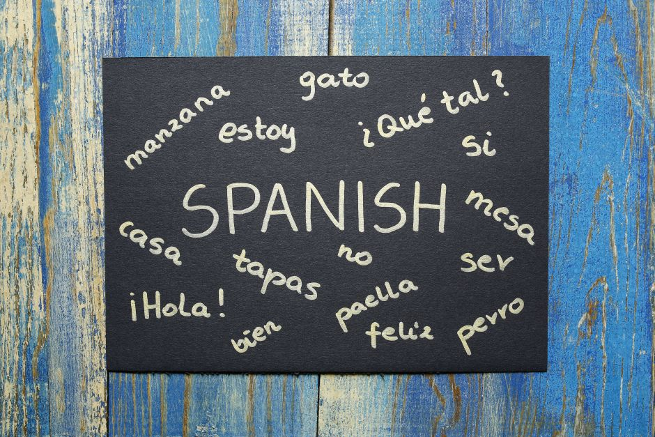 Spanish is the country's official language.