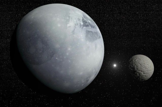 The minimum separation between Pluto and Neptune actually occurs near the time of Pluto's aphelion.