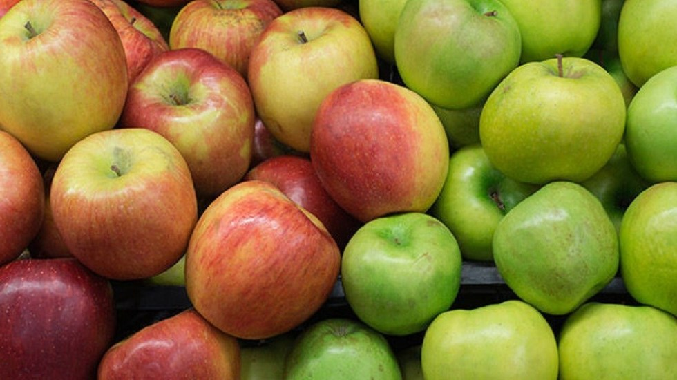 Apples come in all shades of red, green and yellow.