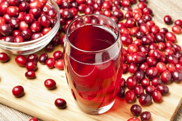 Cranberry juice contains a chemical that blocks pathogens that cause tooth decay.