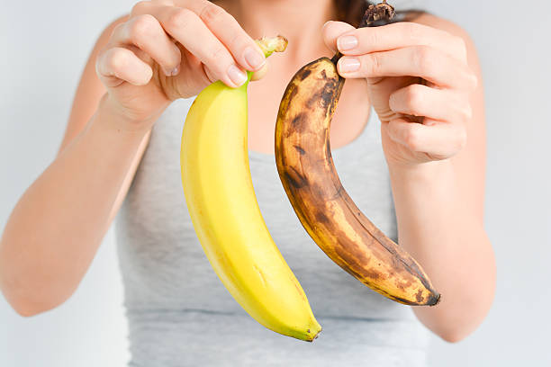 If you put a banana in the refrigerator, the peel will turn dark brown or black, but it won't affect the fruit inside.