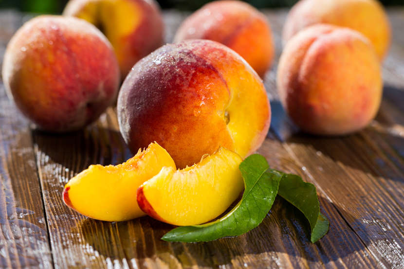 In China, peach is a symbol of good luck and protection.