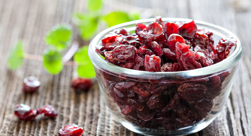 Latest medical studies indicate that antioxidants found in cranberries can prevent the development of Alzheimer's disease.