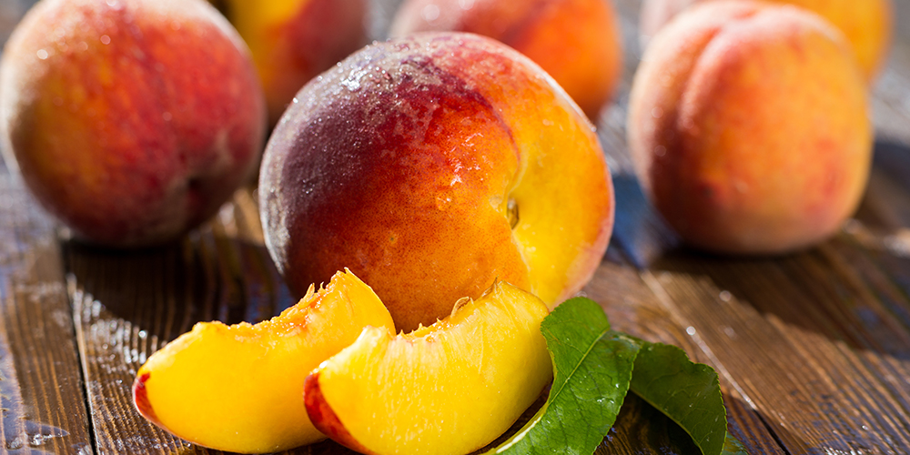 """Peaches are known to reduce anxiety and are often referred to as the """"Fruit of Calmness."""""""