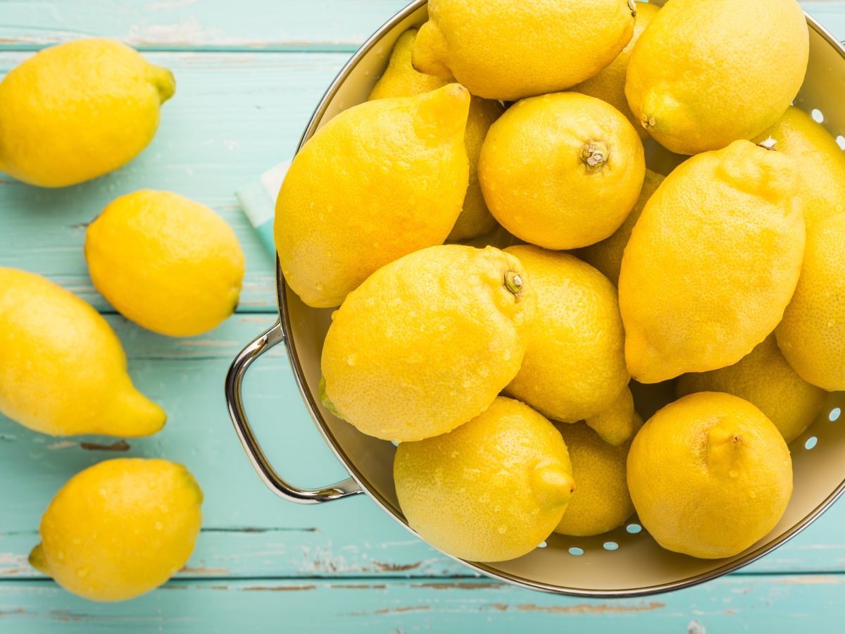 The top 5 producers of lemons in the world each year are China, India, Mexico, Argentina and Brazil.