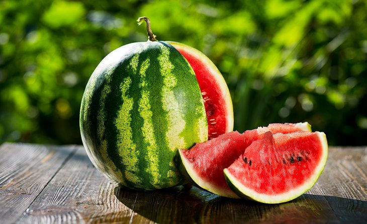Watermelon has only about 40 calories per cup.