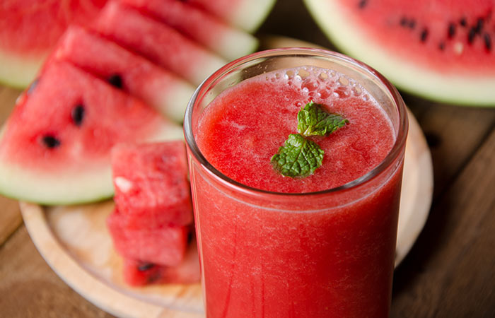 Watermelon juice can relieve muscle soreness.