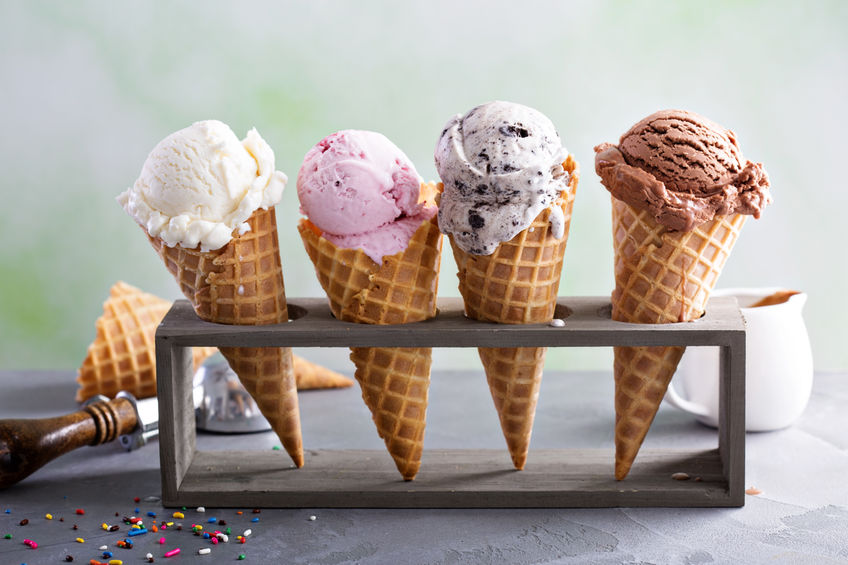 In Japan you can find ice cream flavored with cow tongue, horseflesh octopus and shrimp.