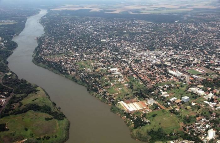 The Parana River is the second-longest river in South America.