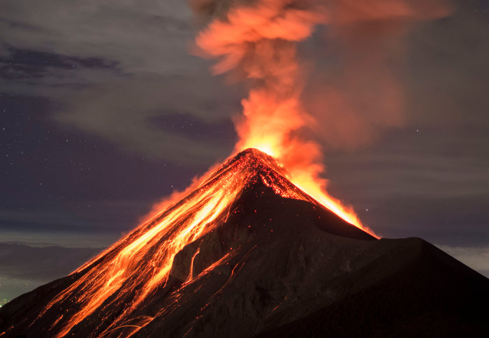 The last volcanic eruption in Panama was back in 1550.