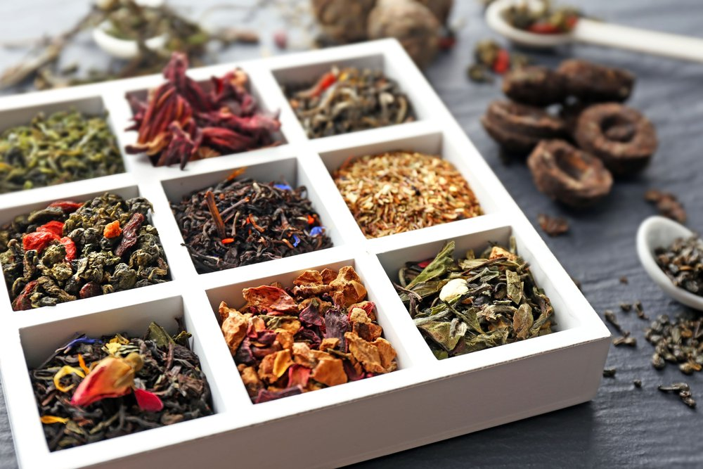 There are approxmitely 1,500 different kinds of tea.